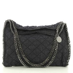 Stella McCartney Falabella Tote Quilted Denim